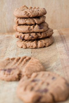 """Chunky Chocolate Chip Peanut Butter Cookies that everyone is going to love! This easy from scratch cookie recipe is one of my most requested and is considered """"the best"""" at bake sales! These homemade cookies combine chocolate and peanut butter to make one delicious cookie!"""
