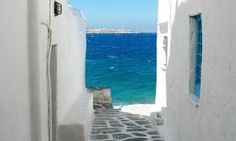 While you're in port in Mykonos, head out on a private shore excursion to enjoy the best of the island, from traditional houses to historical wonders. Explore the narrow streets of Mykonos' old town and Little Venice with your private tour guide, who Dream Vacations, Vacation Spots, Romantic Vacations, Romantic Travel, The Places Youll Go, Places To See, Magic Places, Best Greek Islands, Greece Islands