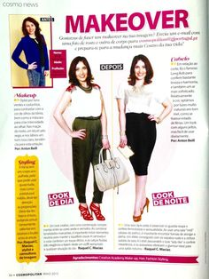 Makeover Cosmopolitan | Cosmopolitan's makeover work | Press | East 69th and 1 Style