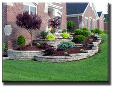 Can use some of these ideas for hill at cabin.... Curb Appeal and Tips for Goldendale Real Estate