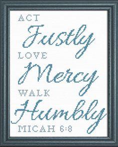 Act Love Walk - Micah 6:8