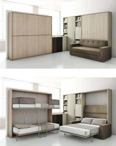 Lit studio gain de place destin images is one of images from lit gain de place. Find more lit gain de place images like this one in this gallery Furniture Design, Murphy Bunk Beds, Murphy Bed, Bedroom Design, Bed Design, Bed, Furniture, Space Saving Furniture, Convertible Furniture