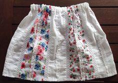 Size 5 White Patricia Skirt by AnaSie