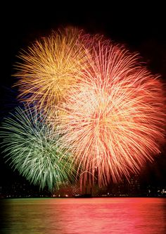 Japanese fireworks 花火 to be proud of.
