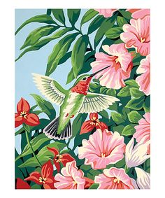 Look what I found on #zulily! Hummingbird and Fuchsias Paint by Numbers Set by PaintWorks #zulilyfinds