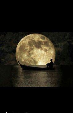 Navegando con la Luna.....