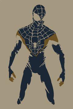 Spiderman by Andrew Atle Dc Movies, Comic Movies, Comic Books Art, Book Art, Man Illustration, Illustrations, Amazing Spiderman, Spiderman Art, Marvel Dc Comics
