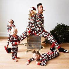 """""""Bear Essentials"""" trap door, Flap Jacks are loved by one and all, and come in sizes for the whole family! Family Pjs, Family Christmas Pajamas, Holiday Pajamas, Christmas Sweaters, Family Christmas Pictures, Family Photos, Picture Ideas, Photo Ideas, Christmas Captions"""