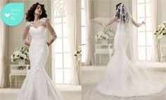 ABITI DA SPOSA 2014: IL MODELLO A SIRENA FIRMATO NICOLE SPOSE  By www.SomethingTiffanyBlue.com #wedding #abitodasposa #bridaldress