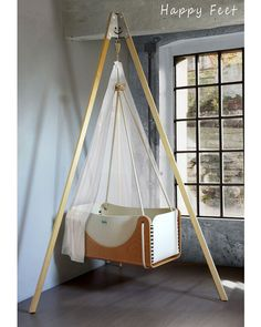 Perfect Woodly Tripode Happy Feet Per Culla Sospesa Roll + Materasso   Lana E Legno    Made · Hanging CradleBaby ... Design Inspirations