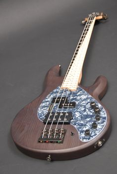 Musicman-style 4 string bass by Combat Guitars
