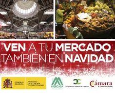 Ven a tu mercado también en Navidad | Fedecarne