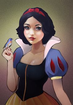 Great princess illustrations