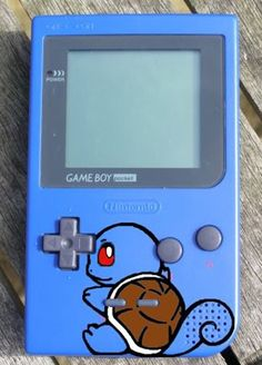 Squirtle Game Boy. if you do not know what squirtle or a game boy is go get some help.