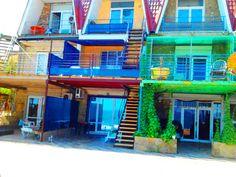 Эллинг а Коктебеле -дом у моря -коттедж с номерами студия-кухни.
