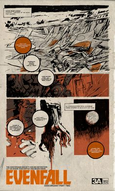 EVENFALL DISCORDANT PART TWO by Ashley Wood  EVENFALL