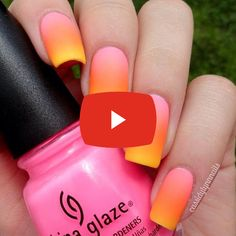 How to Get Stylish Ombre Nails for 2020 Stiletto Nails, Coffin Nails, Gel Nails, Acrylic Nails, Nail Polish, Ombre Nail Designs, Top To Toe, Press On Nails, Nail Artist