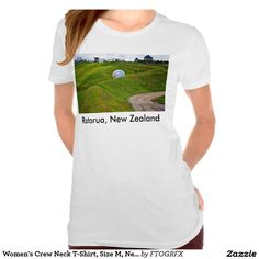 Women's Crew Neck T-Shirt, Size M, New Zealand