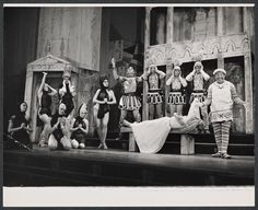 A Funny Thing Happened on the Way to the Forum.  Sondheim, 1962, national tour...what's not to love.