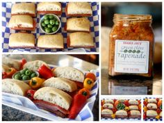DIY Sandwich Platters~ How to Make them Attractive {includes recipes for two make ahead sandwiches}