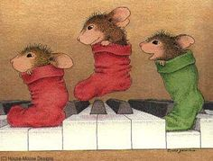 """""""Mudpie, Maxwell and Amanda"""" from House-Mouse Designs®"""