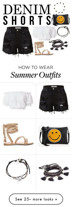 """""""Trendy Outfit"""" by jmrynar on Polyvore featuring Chan Luu, LE3NO, LoveShackFancy, WithChic, Van Cleef & Arpels, love, stylish, Trendy and trendyoutfit"""
