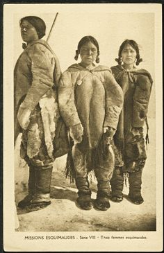 Femmes esquimaudes Arctic Explorers, Inuit People, Walk In The Spirit, The Great Migration, Aboriginal People, Winter Project, Fight Or Flight, Most Beautiful People, Silent Film
