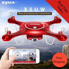 Syma X5UW Drone with WiFi Camera 720P HD Real-time Transmission
