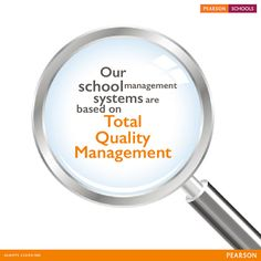TQM ensures parity between parental expectation and School delivery capacity, curriculum planning. Classroom practice and assessment are in sync with each other and responsibilities are shared between Parents, Students, Teachers and Management. #AlwaysLearning #PearsonSchools