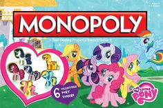 Mlp monopoly (I have it it's awesome)