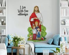 964b56a1fe ... #Jesussmilingwithhandsextendedtoyou  #TheNamesofJesusChristintheBibleandtheirmeaning SHOP NOW AT JUST 199 www. fantaboy.com. Fantaboy · wall decal