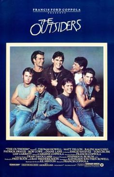 The+Outsiders+Movie+Poster | The Outsiders Replica 1983 Movie Poster | eBay