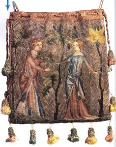 Parisian purse from 1340