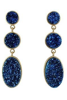 Claudia Lobao Brazilian Infinity Drop Earrings