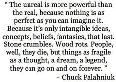 Chuck Palahniuk. My FAVORITE author of all time.