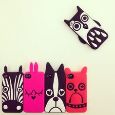 Marc by Marc Jacobs iPhone Cases - Julio, Katie Bunny, Shorty, Pickles, and Javier