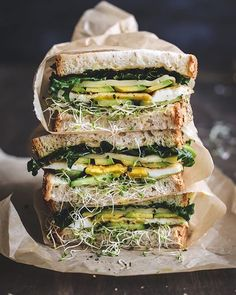 Best Vegetarian Sandwich Recipes - Filling Vegetable Meals Shop domino for the top brands in home decor and be inspired by celebrity homes and famous interior designers. domino is your guide to living with style. Avocado Egg Sandwiches, Cold Sandwiches, Veggie Sandwich, Veggie Wraps, Avocado Sandwich Recipes, Hummus Sandwich, Panini Sandwiches, Grilled Sandwich, Best Vegetarian Sandwiches