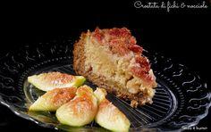 Crostata di fichi e nocciole vegan senza glutine  http://www.senzaebuono.it/crostata-di-fichi-nocciole-vegan-senza-glutine/