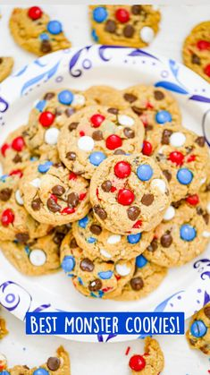 Delicious Cookie Recipes, Yummy Cookies, Cupcake Cookies, Chip Cookies, Yummy Treats, Sweet Treats, Dessert Recipes, Yummy Food, Cupcakes