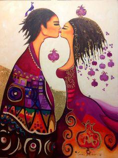 Canan Berber'in Sevgililer Sergisi | Mutlumikrop
