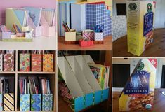 Ideas For Organize Storage Unit Offices Baby Closet Organization, Office Storage, Storage Shelves, Storage Organization, Shoe Storage, Organizing Ideas, Diy Recycling, Diy Step By Step, Paper Strips