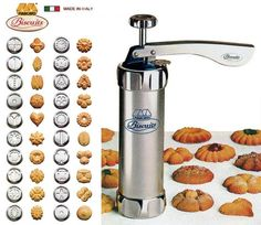 Apexstone Cookie Press Machine Biscuit Maker with 20 Disks Kitchen Tools, Kitchen Appliances, Safe Shop, Cookie Press, Baking Accessories, Home Kitchens, Cookie Recipes, Biscuits, Coffee Maker