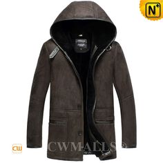 CWMALLS® Vintage Sheepskin Shearling Hooded Coat CW836019 Vintage sheepskin coat with hood crafted natural, supple sheepskin shearling material from CWMALLS, it's soft, delicate and extremely warm. CWMALLS Shearling sheepskin coat featuring buckled at hood collar,leather trim placket,pocket,and cuffs. www.cwmalls.com PayPal Available (Price: $1787.89) Email:sales@cwmalls.com