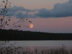 August evening in lake Honkajärvi.