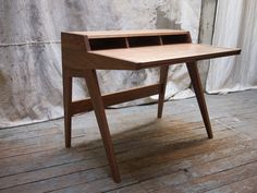 Even in a marketplace crowded with George Nelson-inspired tables,theLaura Desk by Phloem Studio still feels like a vital take on the old master's style. The premium plywood desk is compact,designed with today's laptop workforce in mind.    This originally appeared in Laura Desk by Phloem Studio.
