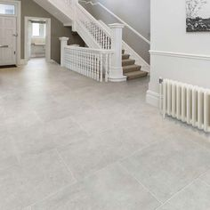 41 Enchanting Porcelain Tile Ideas For Kitchen Floors. If you think that cream and beige are unexciting shades in home design, check out the latest Livingstyle Porcelain Tile Collection. Natural Stone Flooring, Terrace Tiles, Porcelain Tile, Outside Tiles, Tiled Hallway, Stone Tile Flooring, Porcelain Flooring, Neutral Flooring, House Flooring