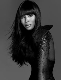 Naomi Campbell by François Nars. There are a couple of people in this world I admire.... Naomi Campbell is one of them.