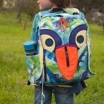 Birdy's Cute Backpack Sewing Pattern by Tutorial Girl