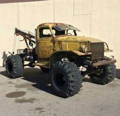 rusty tow