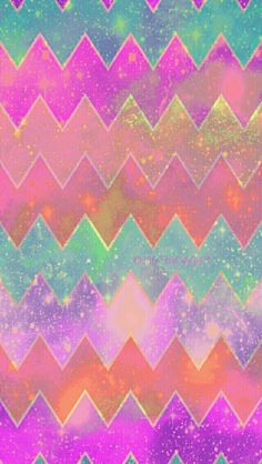 Sweet Chevron galaxy iPhone & Android wallpaper I created for the app CocoPPa!